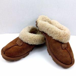 UGG Australia Chestnut Sheepskin Coquette slides 8